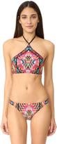 Nanette Lepore Mayan Mosaic Stargazer Top