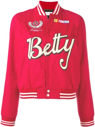 Saint Laurent Betty varisty jacket