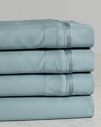 Superior 650Tc 100% Egyptian Cotton Solid Sheet Set