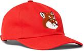 Maison Kitsuné - Embroidered Cotton-Blend Twill Baseball Cap