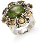 Stephen Dweck Diopside & Yellow Quartz Ring