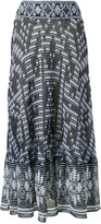 Cecilia Prado knitted skirt - women - Viscose/Acrylic/Lurex - P