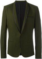 Haider Ackermann piped trim blazer - men - Silk/Rayon/Virgin Wool/Cotton - 50