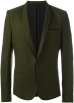 Haider Ackermann piped trim blazer
