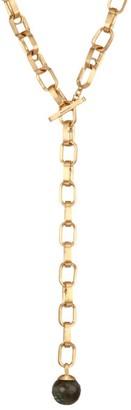 Dean Davidson Manhattan 22K Yellow Goldplated & Labradorite Lariat Necklace