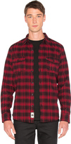 HUF Tardy Flannel Button Down