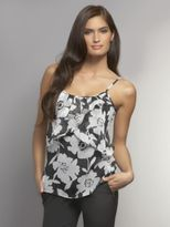 New York & Co. Chiffon Tiered Ruffles Camisole