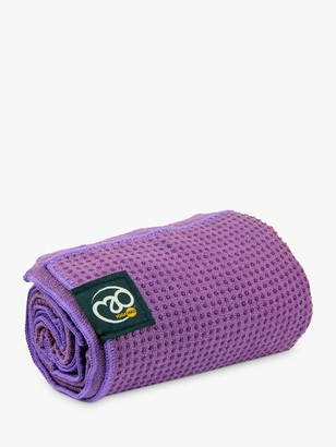 Equipment Fitness Mad Fitness-Mad Grip Dot Yoga Towel, Purple