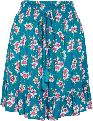 Tiare Hawaii Lily Cover-Up Skirt