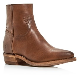 Frye Women's Billy Zip Pointed-Toe Western Booties
