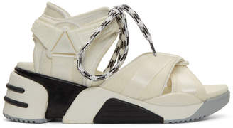 Marc Jacobs White Somewhere Sport Sandals