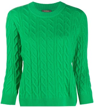 N.Peal Cable Knit Sweater