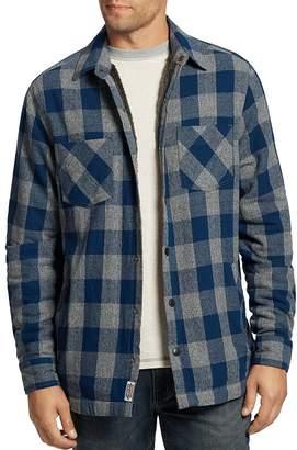 Flag & Anthem Farson Buffalo Check Regular Fit Shirt Jacket