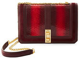 Brian Atwood Amel Ombre Water Snake Crossbody Bag