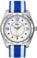 Lacoste 2010576 Stainless Steel Case Multicolor Nylon Men's Watch