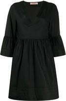 Twin-Set Short V-Neck Dress