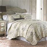 Levtex Lise Grey Quilt Set