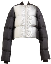 Rick Owens Cropped Duvet Down Puffer Jacket