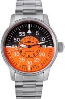 Fortis flieger Cockpit Orange-black Watch.
