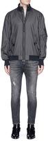 Helmut Lang Nylon seersucker track jacket