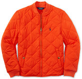 Ralph Lauren Boys' Full-Zip Diamond-Quilted Jacket