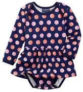 Toobydoo Juicy Dots Ballerina Bodysuit (Baby Girls)