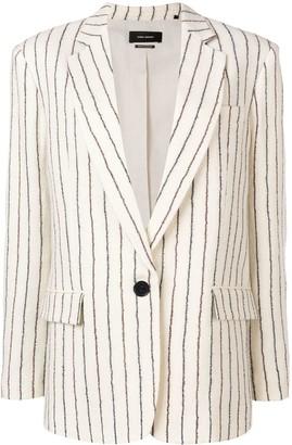 Isabel Marant Pinstripe Textured Blazer