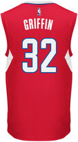 adidas Men's Los Angeles Clippers Blake Griffin Replica Jersey