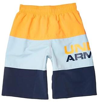 Under Armour Kids Triple Block Volley (Big Kids) (Versa Red) Boy's Swimwear