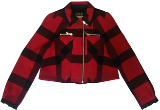 Opening Ceremony Red Wool Jackets