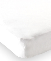 Luvable Friends White Fitted Crib Sheet