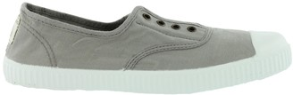 Victoria Dora Laceless Plimsoll - Gris Grey - EU36 (UK3) - Grey
