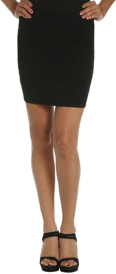 Arden B Bandage Mini Skirt