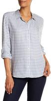 Soft Joie Long Sleeve Plaid Pocket Shirt