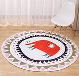 Multi-sized Cartoon Animal Round Carpet Area Floor Rug Doormat LivebyCare Entrance Entry Way Front Door Mat Ground Rugs for Inside Outside Aisle Passage Porch