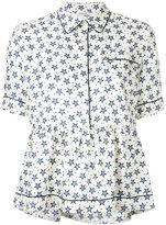 P.A.R.O.S.H. peplum buttoned blouse - women - Silk - S