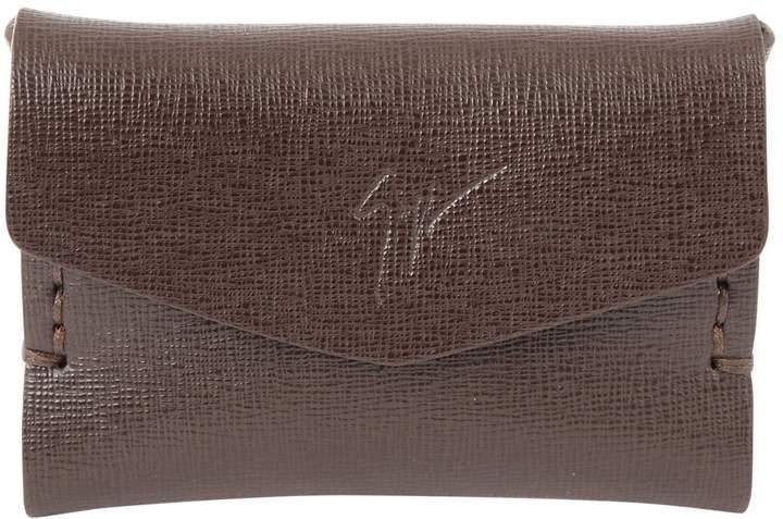 Giuseppe Zanotti Leather card wallet