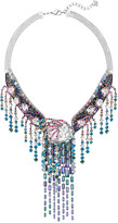 Swarovski High Class Necklace, Multi-colored, Ruthenium plating