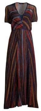 Missoni Stripe Wrap Dress