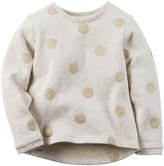 Carter's Dot Top (Toddler/Kid) - Gold-4
