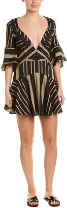 Acler Archer Linen-Blend A-Line Dress