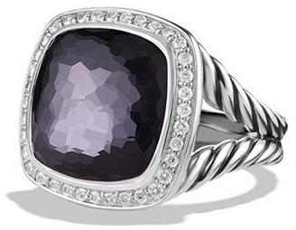 David Yurman 14mm Albion Ring with Diamonds