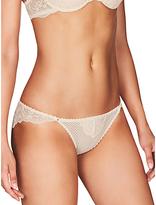 Heidi Klum Intimates Lily Bikini Briefs, Cream