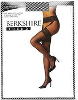 Berkshire Women's Lace Garter Fishnet All-in-One Stockings