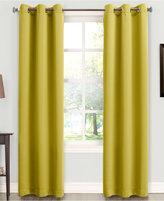 """Sun Zero Tabbey Room Darkening Grommet 40'' x 84"""" Curtain Panel"""