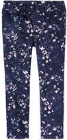 Joe Fresh Toddler Girls' Twill Pant, JF Midnight Blue (Size 5)