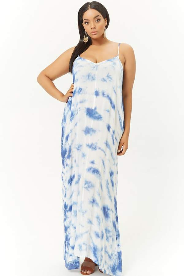 315bc31527 Forever 21 Blue Plus Size Dresses on Sale - ShopStyle Canada