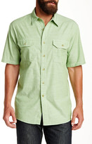 Pendleton Short Sleeve Warren Chambray Regular Fit Shirt