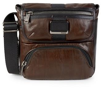 Tumi Barton Leather Crossbody Bag