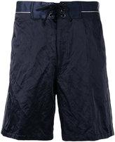 Lanvin tied bermuda shorts - men - Cotton/Polyamide/metal - 48